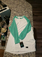 Nike Sb Dri-Fit 3/4 sleeve henley shirt - brand new with tags, size medium