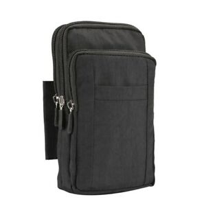 Cell Phone Bag Universal Very Large Multifunctional Hanging Pouch Outdoor Wallet