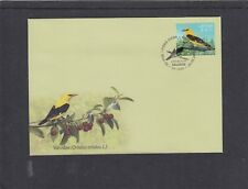 Latvia 2015 Oriole birds First Day Cover FDC Riga special hs