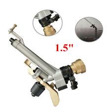 "1.5"" Impact Sprinkler 360° Adjustable Long Range Water Irrigation Spray Tool Kit"