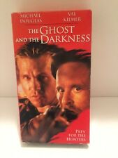 The Ghost and the Darkness VHS 1997 Val Kilmer, Michael Douglas