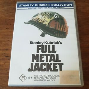 Full Metal Jacket DVD R4 Like New! FREE POST