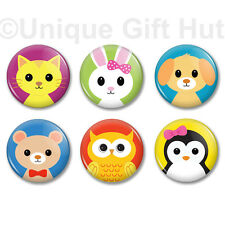 """Baby Critter Animal Magnet,1.25"""",home kichen decor,set of 6 party favor gift set"""