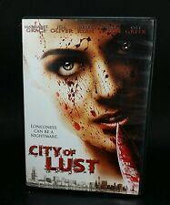 City of Lust horror thriller BRAIN DAMAGE FILMS grace oliver ryan (DVD, 2014)