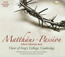 Kings College - Bach: Matthaus Passion (3cd+dvd)