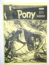 Pony Band 3 (Bastei) Dokumentation: BESSY Cover, günstig für Historiker & Fans++