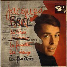 """JACQUES BREL """"LES TOROS"""" 60'S EP BARCLAY 70556"""