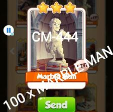 Marble Man Coin Master 100 cards.