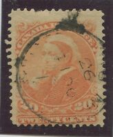 CANADA #46 USED DATED EARLY