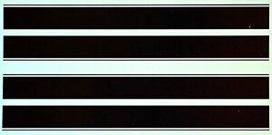 Renn, Race, Viper, Rallye Streifen Stripes schwarz black 1:18 Decal Abziehbilder
