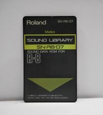 Roland SN-R8-07 Mallet Rom Card for ROLAND R8, R8M & R8-MKII Free Shipping!