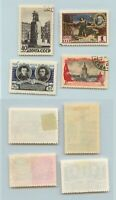 Russia USSR, 1955 SC 1749-1752, Z 1718-1721 used. rtb1869