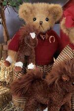 "14"" TANNER & TROTT*Bearington Teddy Bear*NEW*NWT*Horse*PONY*179896"