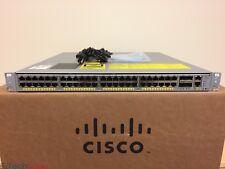 Cisco Catalyst WS-C4948E-S 48 Port Layer 3 Gigabit Switch 4 x 10G SFP+ Dual AC