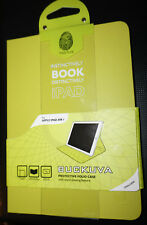 Tactus Buckuva Book Cover / Case for iPad Air 1 | Green/Yellow