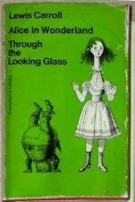 ALICE IN WONDERLAND & THROUGH LOOKING GLASS~ LEWIS CARROLL ~ ILLUSTRATED ~ HC