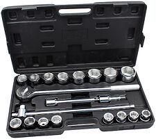 Steckschlüssel Satz 3/4 Zoll 20-tlg. Nuss Kasten Kfz Werkzeug Set Ratsche Kasten