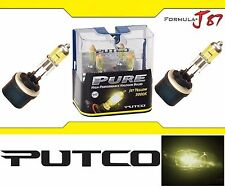 Putco 3000K Yellow 893 230893JY 37.5W Two Bulbs Fog Light Replacement Plug Play