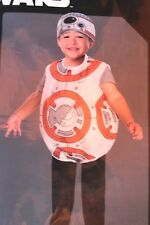 BOYS GIRLS 3T 4T STAR WARS BB8 BB-8 HALLOWEEN COSTUME