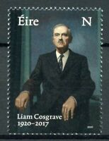 Ireland Politicians Stamps 2020 MNH Liam Cosgrove Taoiseach Famous People 1v Set