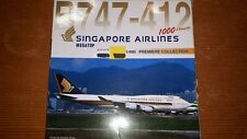 DRAGON WINGS 1:400 SINGAPORE AIRLINES B747-412 MEGATOP, 55073