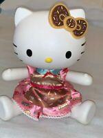 "2013 Blip Sanrio Hello Kitty 13"" BAKER Doll Hard Plastic moveable Very Good Cond"