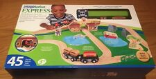 Wooden Children's Pirate Island Railway Set with 45 pieces - Brand New & Boxed!
