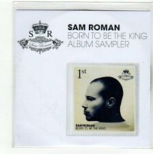 (FC394) Sam Roman, Born To Be The King 5 track album sampler - DJ CD