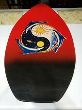 Vintage red dolphin Mbs Love Unlimited George Marshall Skimboard