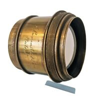 J Lancaster & Son's Patent Antique brass lens