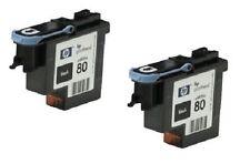 2 x Druckkopf HP C4820A HP Designjet 1050c 1055cn Black Printhead