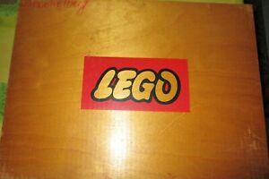 LEGO Holzkiste(personalisiert) gut gefüllt mit über 1kg - alt vintage 60er Jahre