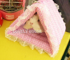 Hammock Rat Parrot Rabbit Guinea Pig Ferret Hanging Bed Tunnel Toy House Cage