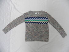 Roxy Girls Fisher Multi-color Hoodie Pullover Sweaters Sz 10 Surf Skate