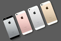 Apple iPhone SE 16GB 32GB 64GB 128GB Unlocked- Gray, Gold, Silver, Rose Gold