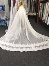 3 m Beautiful JANE Curtain Lace -Ivory 275 cm drop-High Quality Nettex Curtain