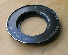 genuine later  Rollei  Voigtlander 35mm SLR m42 adapter swiss made  SL35E