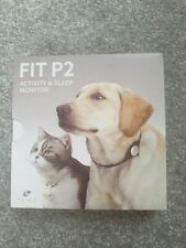 Bnib Sealed Grey Fit P2 Pet Acitivity & Sleep Monitor rrp £40