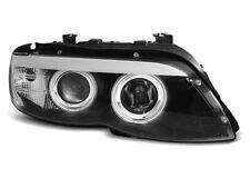 Prednja svjetla za BMW X5 E53 03-06 Angel Eyes Black Xenon LPBMC3EU XINO IT