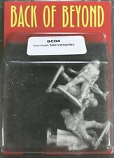Back of Beyond German Mercenaries (4) 28mm Copplestone Castings New!
