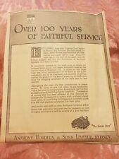 Anthony Hordern & Sons - 1931 Advertisement