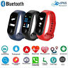 Smart Wristband IP67 Waterproof Sport Tracker Blood Pressure Heart Rate Detector