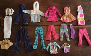 Vintage 90s Glam Clothing 15 Pc Lot Clean Authentic Barbie Mattel Very Good