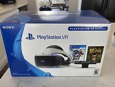 Sony Playstation VR Bundle, Camera, Sticks, EXTRAS! PSVR CUH-ZVR2 FREE SHIP!