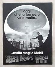 D440-Advertising Pubblicità-1975 - LUBRIFICANTE MOBIL SHC