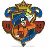Disney Character Crest Collection Goofy Pin