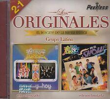 Grupo Latino Los Originales 2 en 1 CD New Nuevo sealed
