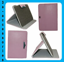 Protective Case Cover Flip Stand for Samsung N8000 Galaxy Note 10.1- Baby Pink