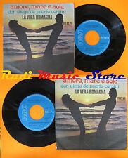 LP 45 7'' LA VERA ROMAGNA Amore mare sole Don diego 1975 italy RCA cd mc dvd(**)