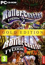 Roller Coaster Tycoon (Jewel Case) - PC by Atari